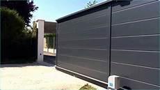 portail aluminium brico depot motorisation de portail