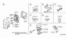 g35 ipdm diagram 284b7 aq007 genuine infiniti parts