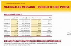 paket preise dhl portokosten pdf kostenlos