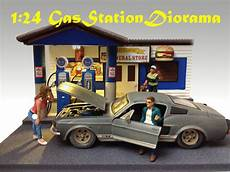 brand new 1 24 scale diorama route 66 gas station ad 77729