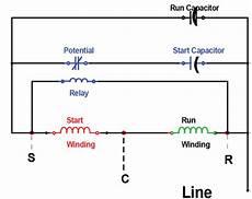Copeland Potential Relay Wiring Diagram Run Capicator For