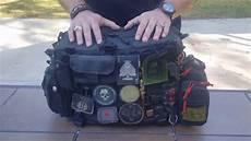gatura edc gear bag bag dump breakdown of my edc gear bag