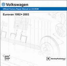 car repair manuals online free 1994 volkswagen eurovan electronic throttle control volkswagen eurovan 1992 2003 repair manual dvd rom