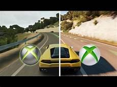 forza horizon 2 xbox one vs xbox 360 gameplay
