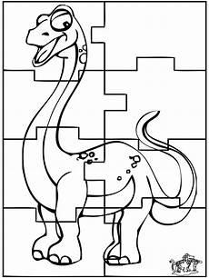 dino puzzle malvorlagen drachen und dinisaurier