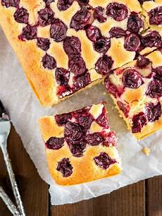 easy cherry cake recipe from scratch plated cravings