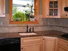 Limestone Backsplash Kitchen Baltic Brown Granite Tile Backsplash