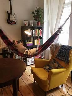 unsere schöne gemeinsame wohnung eine h 228 ngematte im wohnzimmer ist eine tolle idee ein