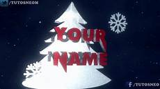 merry christmas intro template 2 cinema 4d blender after effects free download