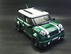 Mini Cooper Lego - mod mini cooper jcw lego creation lego lego wheels