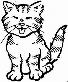 Katzenbabys Ausmalbilder Niedliches Katzenbaby Ausmalbild Malvorlage Tiere