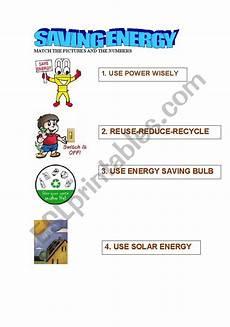 english worksheets saving energy