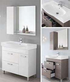 mobile specchio per bagno mobile da arredo per bagno 90cm con lavabo bianco specchio