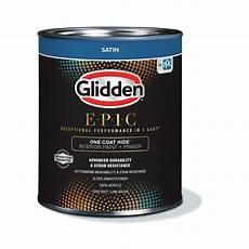 glidden epic one coat hide interior paint primer satin white base 916 the home depot canada