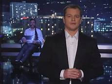 matt damon jimmy kimmel matt damon hosts jimmy kimmel live business insider