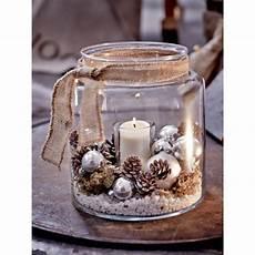 Windlicht Glas Vorderansicht Weihnachtsdeko Gl 228 Ser