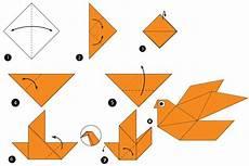 origami anleitung einfach origami vogel anleitungen zum nachbasteln geolino