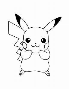 pikachu ausmalbild pikachu zeichnung