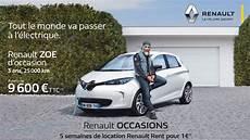 Offensive Renault Sur Les Zoe D Occasion Auto Ecologique