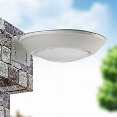 2017 led solar porch light courtyard microwave radar