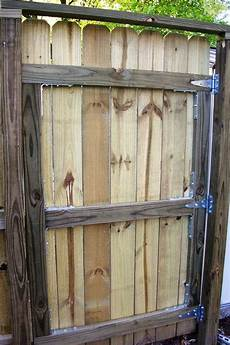 zauntor selber bauen building a fence gate 6 steps with pictures