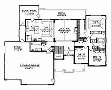 craftsman rambler house plans branhill craftsman style home plan 051d 0664 house plans