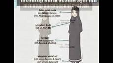 Cara Memakai Jilbab Yang Benar Menurut Syariat Islam Dada