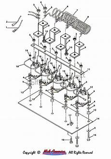 solenoid and resistor assy golfcartpartsdirect