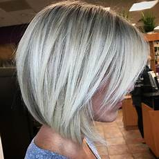 short angled bob blonde hair 60 beautiful and convenient medium bob hairstyles in 2020 medium bob hairstyles bob