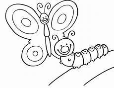 Malvorlage Raupe Schmetterling Ausmalbild Tiere Schmetterling Und Raupe Kostenlos Ausdrucken