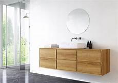 Badmöbel Massivholz Eiche - waschtischunterschrank apelia eiche massiv 4 schubladen