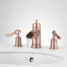 signature hardware melton waterfall bathroom faucet ebay