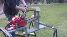 brennholz s 228 mit motors 228 schnittbock marke eigenbau