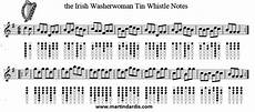 the irish washerwoman tin whistle music