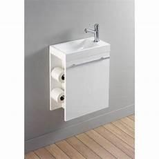 lave mains wc lave mains complet avec meuble design blanc et