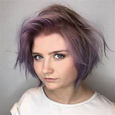 messy hairstyles for round faces 45 short hairstyles for fine hair worth trying in 2020
