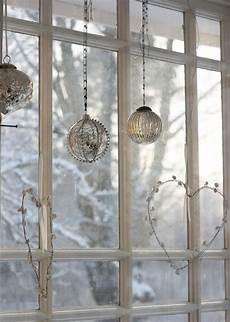 christmas window decor elegantes weihnachten