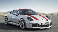 Porsche 911 R - 2017 porsche 911 r white exterior and interior