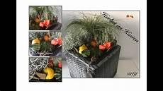 terrassen deko selbst gemacht diy herbstlicher pflanzkasten au 223 endeko herbstdeko