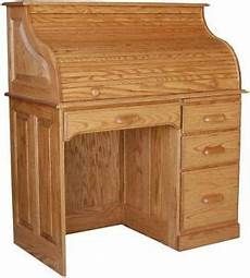 solid oak home office furniture amish rolltop writing computer desk home office furniture