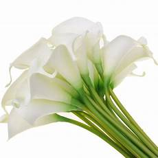 artificial calla real touch fake flower home decor