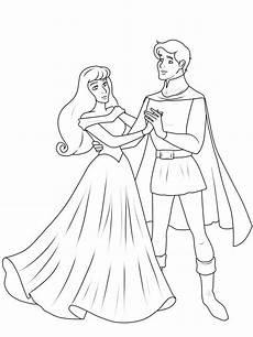 Prinzessin Malvorlagen Zum Ausmalen Kostenlose Malvorlage Prinzessin Prinz Und Prinzessin Zum