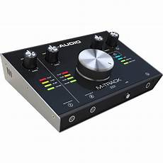 M Audio M Track 22 24 Bit 192 Khz Usb Audio Interface M