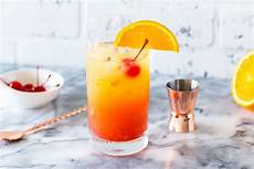 tequila sunrise cocktail recipes