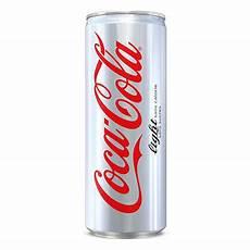 coca cola canette coca cola light soda sans sucre canette de 33 cl
