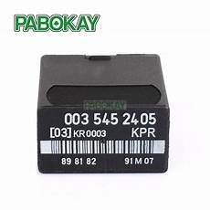 for fuel pump relay mercedes w124 w126 w201 1987 1992 new 0035452405 in car switches relays