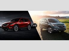 2016 Mazda CX 5 vs 2016 Honda CR V