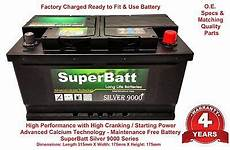 12v 85ah sb 110 car battery ford mondeo iii 2 0 tdci 2 2