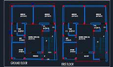 house plan dwg house architectural floor layout plan 25 x30 dwg detail