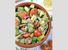 Healthy Chicken and Avocado Salad   OMG Chocolate Desserts